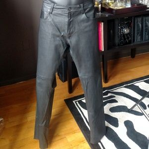 AG The Dylan Leather Pants by ARIANO GOLDSCHMIED